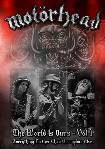 Motorhead - The World Is Ours - Vol.1 (2011) DVD9