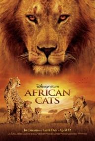Африканские кошки: Королевство смелости / DisneyNature: African Cats (2011) BDRip