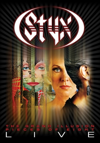 Styx - The Grand Illusion / Pieces Of Eight - Live (2011) DVD9