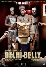 Прогулка по Дели / Delhi Belly (2011) CAMRip