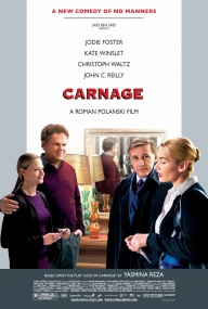 Резня / Carnage (2011/Blu-Ray/BDRip/Отличное качество)