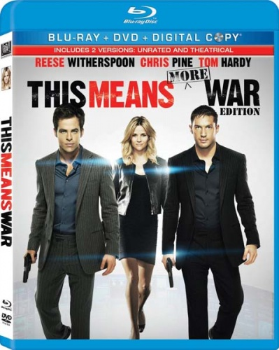 Значит, война / This Means War [UNRATED] (2012/BDRip/Отличное качество)