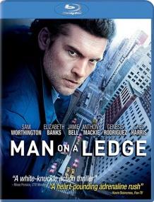 На грани / Man on a Ledge (2012/BDRip/Отличное качество)