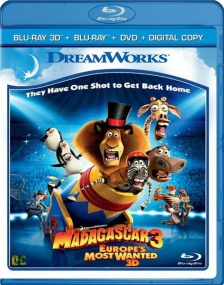 Мадагаскар 3 / Madagascar 3: Europe's Most Wanted (2012/BDRip/Отличное качество)