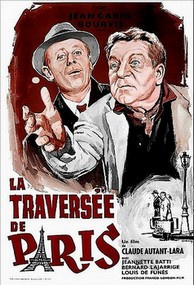Через Париж / La Traversee De Paris (1956/DVDRip)